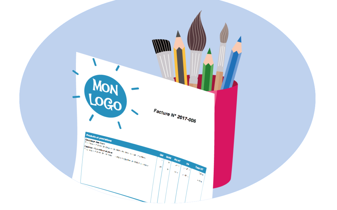 Un logo pour vos factures !