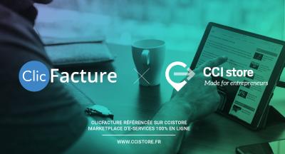 ClicFacture recommandé par CCI Store !