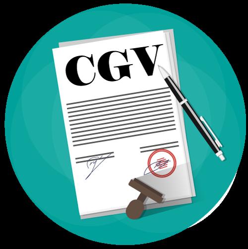 Les conditions générales de vente (CGV)